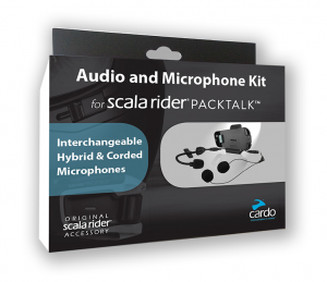 Cardo Audio Kit do PACKTALK/SMARTPACK dodatkowy uchwyt do kasku